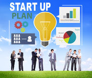 Start Up Launch Business Ideas Plan Creativity Concept Stock Photography
