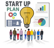 Start Up Launch Business Ideas Plan Creativity Concept Stock Images