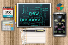 Start up new business concept Stock Image