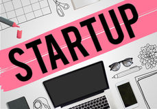 Start up New Business Vision Mission Concept Royalty Free Stock Photos