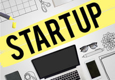 Start up New Business Vision Mission Concept Stock Photography