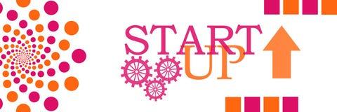 Start Up Peach Pink Circles Royalty Free Stock Photos