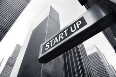 Start up. Picture of a start up concept Royalty Free Stock Images