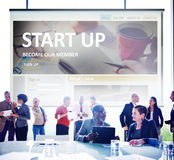 Start up Registration Member Joining Account Concept.  Royalty Free Stock Image