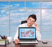 Start Up Scheme Stock Photography
