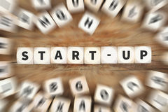 Start-up startup start up launch launching founding new company. Dice business concept idea stock photos