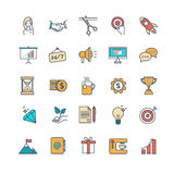 Start up vector icons Royalty Free Stock Photography