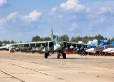 Start van militaire vliegtuigen Royalty-vrije Stock Afbeelding