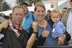 Izuzi ironman 70.3 world championship in Port Elizabeth in South africa Stock Photo