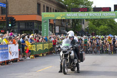 Start of Womens Uptown Criterium Stock Photography