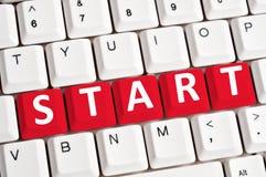 Start word Royalty Free Stock Image