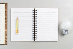 Start Writing Idea royalty free stock photo