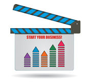 Start your succesful business Stock Photos