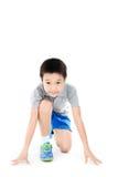 Starta Pre att köra pojken Royaltyfri Fotografi