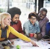 Starta upp affären Team Meeting Ideas Concept Royaltyfri Foto