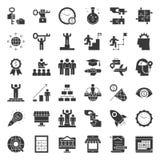 Starta upp och den släkta symbolen för framgångentreprenören liksom mindset royaltyfri illustrationer