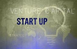 Startconcept stock illustratie