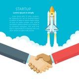 Startconcept Vector Illustratie