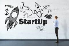 Startconcept Stock Foto