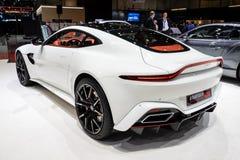 Startech Aston Martin 600 HP Vantage sports car. GENEVA, SWITZERLAND - MARCH 5, 2019: Startech Aston Martin 600 HP Vantage sports car showcased at the 89th stock photography