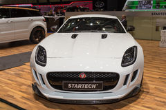 2015 Startech Jaguar F-Type. Geneva, Switzerland - March 4, 2015: 2015 Startech Jaguar F-Type presented on the 85th International Geneva Motor Show Royalty Free Stock Photo