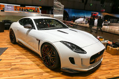 2015 Startech Jaguar F-Type. Geneva, Switzerland - March 4, 2015: 2015 Startech Jaguar F-Type presented on the 85th International Geneva Motor Show Royalty Free Stock Image