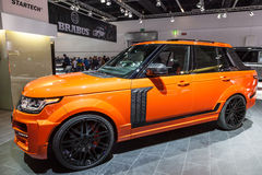 Startech Range Rover przy IAA 2015 Zdjęcia Royalty Free