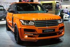 Startech Range Rover przy IAA 2015 Fotografia Royalty Free