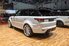 2015 StarTech Range Rover sport Zdjęcia Stock