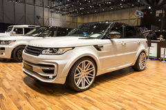 2015 StarTech Range Rover sport Zdjęcie Stock