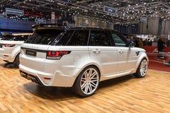 2015 StarTech Range Rover sport Obrazy Stock