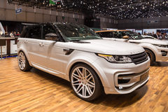 2015 StarTech Range Rover Sport Stock Photos