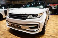 Startech Range Rover sport, Motorowy przedstawienie Geneve 2015 Obrazy Royalty Free