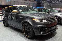 Startech Range Rover Sport SUV car Royalty Free Stock Photos