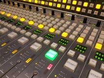 Starter radiostudio Royalty-vrije Stock Foto's