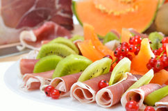Starters plate Royalty Free Stock Image
