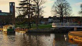 Stratford upon avon england uk stock video