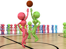 Starting a basketball game �1 Stock Photo