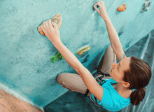Starting bouldering track Stock Image