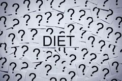 Starting on a Diet? Stock Photography