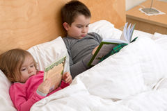 Starting Early to Gain Reading Habits royalty free stock photos