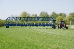 Starting gate Royalty Free Stock Image