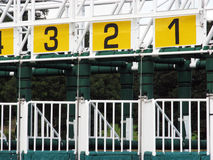 Starting gate Royalty Free Stock Photos