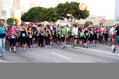 Free Starting Gate At The Rock  N Roll Marathon Stock Images - 21816114
