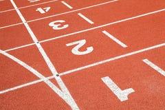 Starting grid line Royalty Free Stock Image