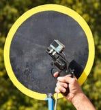 Starting gun at the running race Royalty Free Stock Images