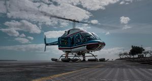 STARTING HELICOPTER | HIGH QUALITY) stock images