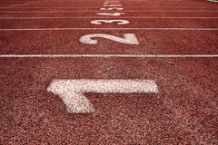 Starting line Royalty Free Stock Images
