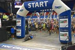 Starting line the Fargo Marathon
