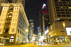 Starting of nathan road Royalty Free Stock Images